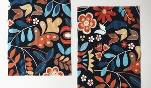 KROK VI - Wycinanie tkaniny na lewą stronę pokrowca